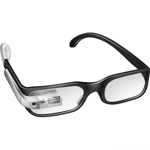 512x512px size png icon of Cool Google Glasses