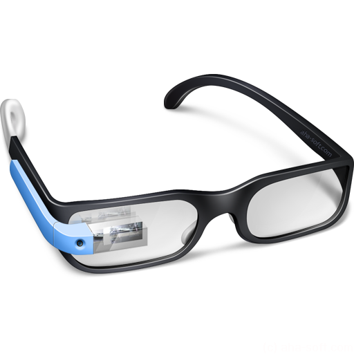 512x512px size png icon of Google Glasses