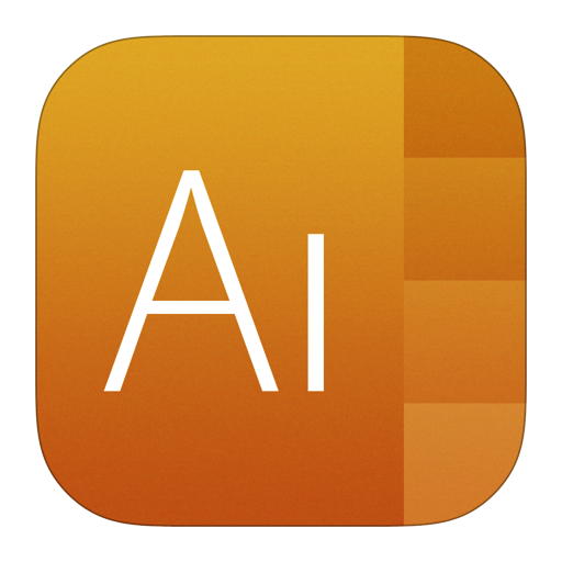 512x512px size png icon of Adobe Illustrator