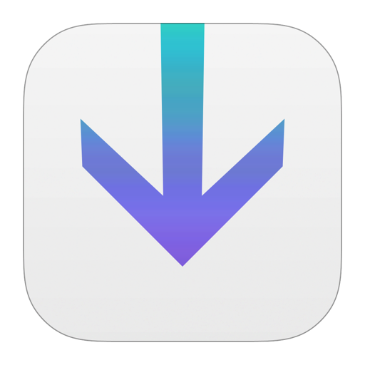 512x512px size png icon of Downloads
