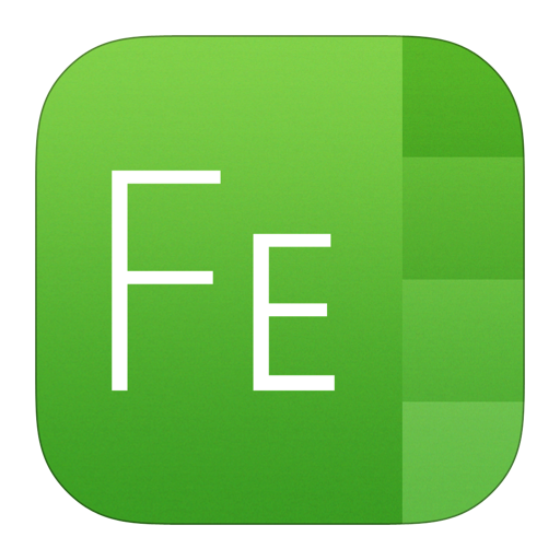 512x512px size png icon of Font Explorer X