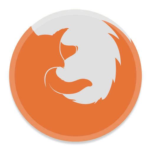 512x512px size png icon of FireFox 2
