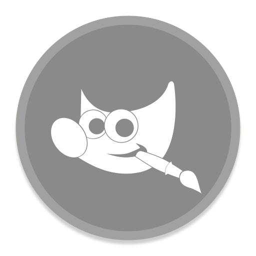 512x512px size png icon of Gimp 2