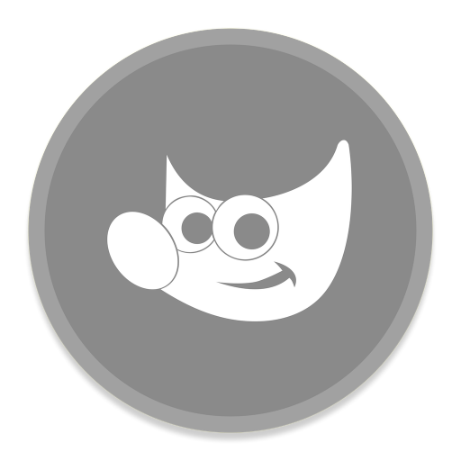 512x512px size png icon of Gimp