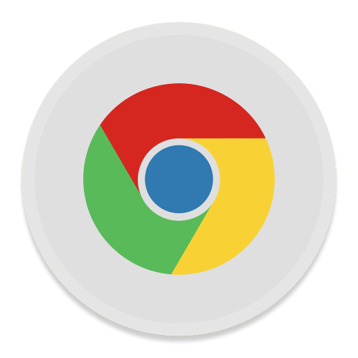 512x512px size png icon of Google Chrome 2
