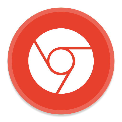 512x512px size png icon of Google Chrome 3