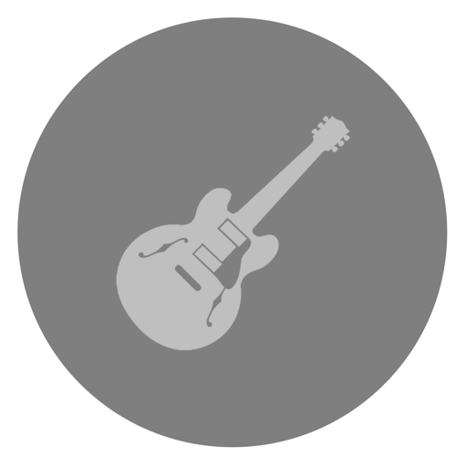 512x512px size png icon of GarageBand