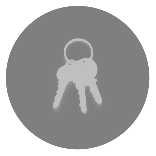 512x512px size png icon of Utilities Keychain Access