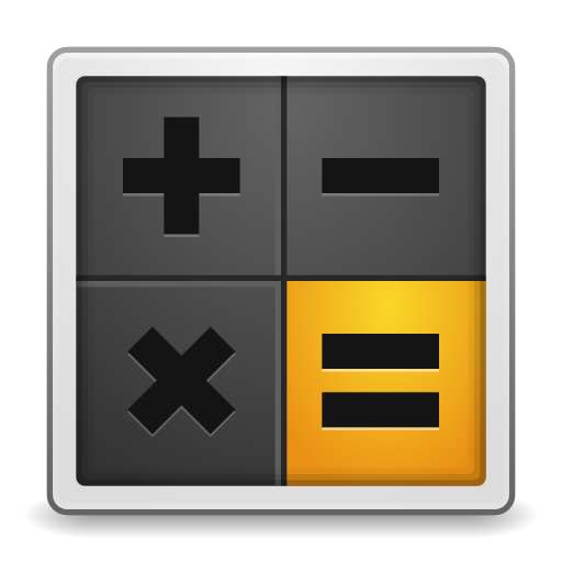 512x512px size png icon of Apps accessories calculator