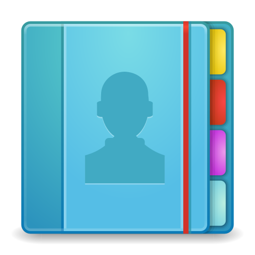 512x512px size png icon of Apps addressbook
