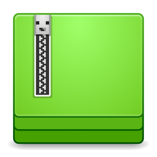 512x512px size png icon of Apps file roller