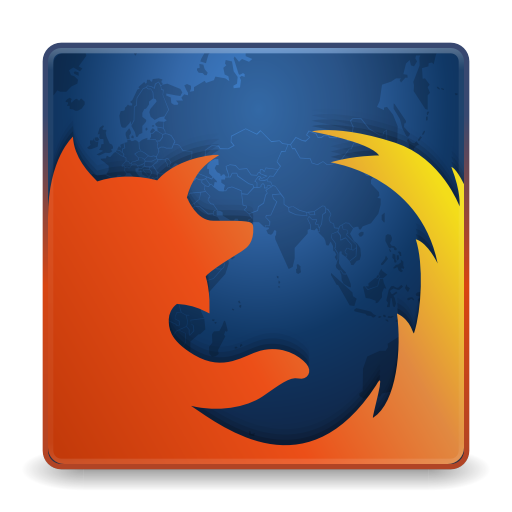 512x512px size png icon of Apps firefox
