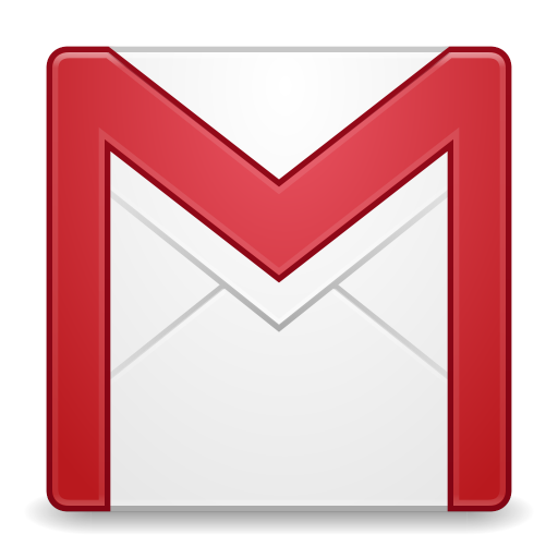 512x512px size png icon of Apps gmail