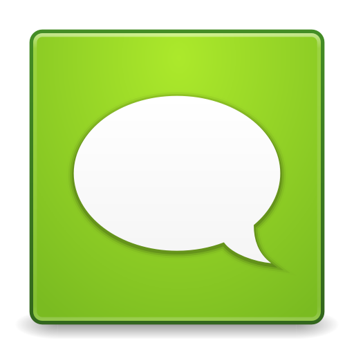 512x512px size png icon of Apps gwibber