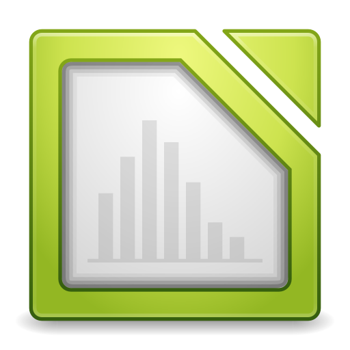 512x512px size png icon of Apps libreoffice calc