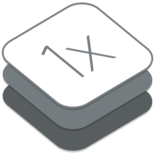 512x512px size png icon of 1X