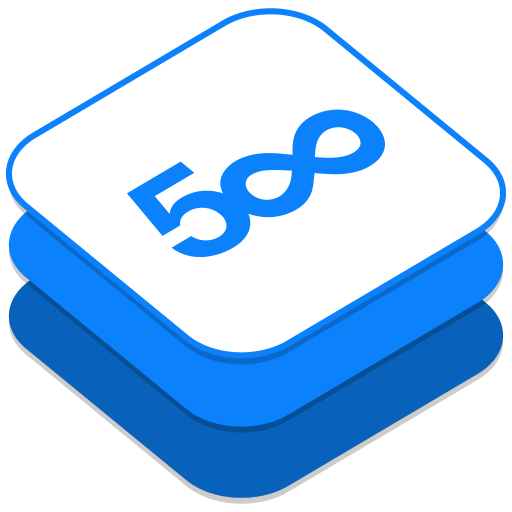 512x512px size png icon of 500px