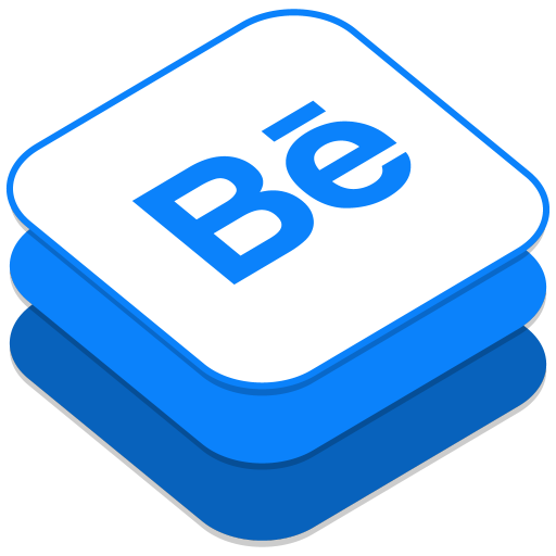 512x512px size png icon of Behance