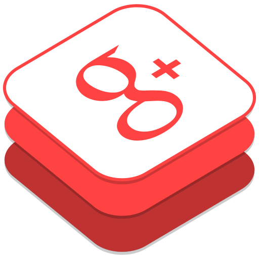 512x512px size png icon of Google Plus