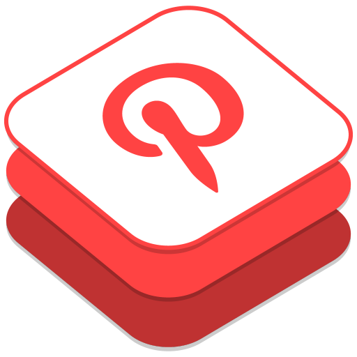 512x512px size png icon of Pinterest