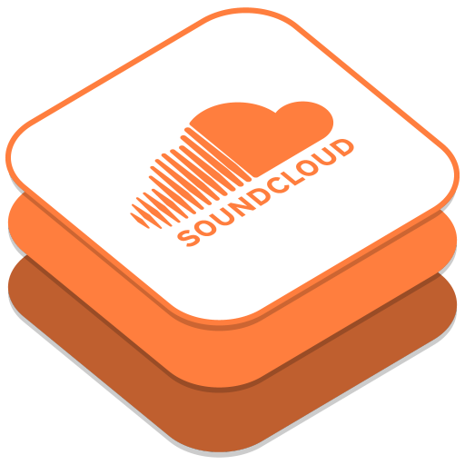 512x512px size png icon of Soundcloud