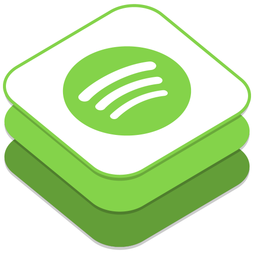 512x512px size png icon of Spotify