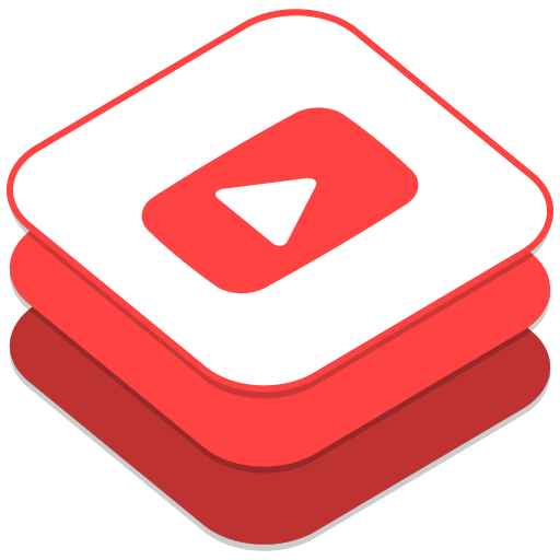 512x512px size png icon of Youtube