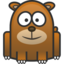 64x64px size png icon of bear