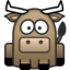 64x64px size png icon of bull
