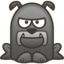 64x64px size png icon of bulldog