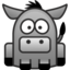 64x64px size png icon of donkey
