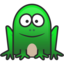 64x64px size png icon of frog