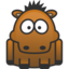 64x64px size png icon of horse