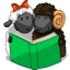 64x64px size png icon of Reading The Book