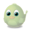 64x64px size png icon of Adium Bird Invisible