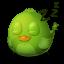 64x64px size png icon of Adium Bird Sleep