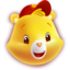 64x64px size png icon of Funshine Bear