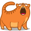 64x64px size png icon of cat sing