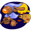 64x64px size png icon of I fly