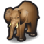 64x64px size png icon of Elephant