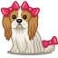 64x64px size png icon of dog bows
