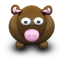 64x64px size png icon of BrownCow
