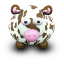 64x64px size png icon of CowBrownSpots