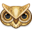 64x64px size png icon of owl