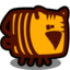 64x64px size png icon of tiger