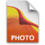 64x64px size png icon of AI PhotoFile Icon