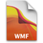 64x64px size png icon of AI WMFFile Icon