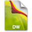 64x64px size png icon of DreamweaverDoc