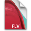 64x64px size png icon of file flv