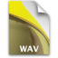 64x64px size png icon of sb document secondary audio wav